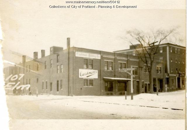 101-111 Elm Street, Portland, 1924