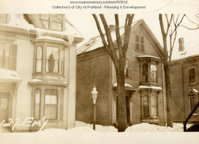 maine memory network 127 emery street portland 1924. Black Bedroom Furniture Sets. Home Design Ideas
