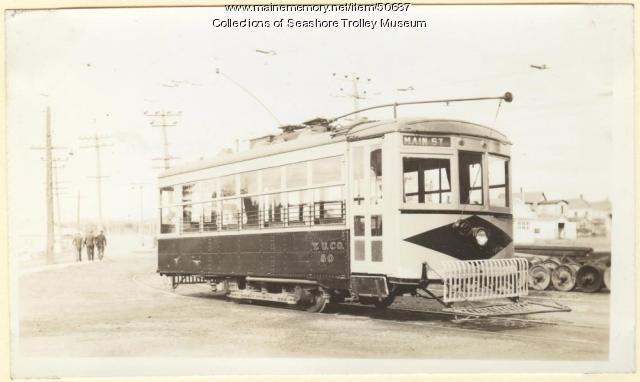 York Utility Company's car #80, Sanford, ca. 1920