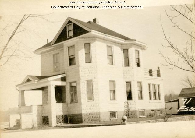 71 Essex Street, Portland, 1924