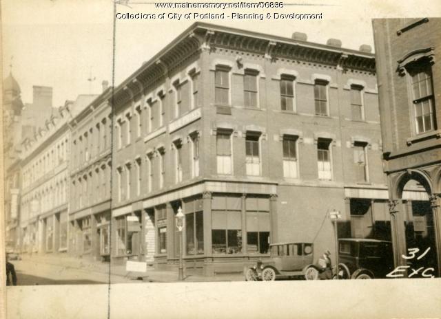 29-33 Exchange Street, Portland, 1924