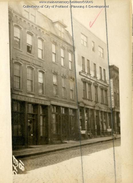 22-26 Exchange Street, Portland, 1924