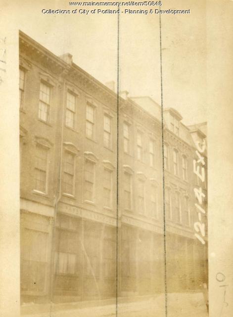 12-14 Exchange Street, Portland, 1924