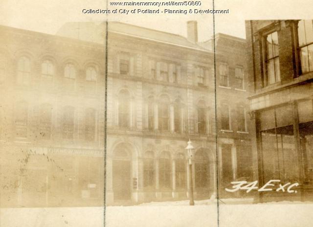 32-34 Exchange Street, Portland, 1924