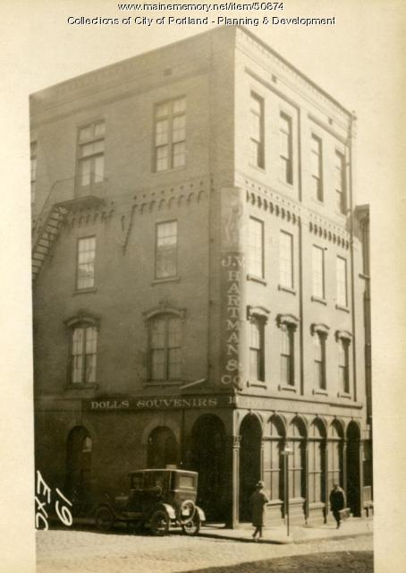 19-21 Exchange Street, Portland, 1924