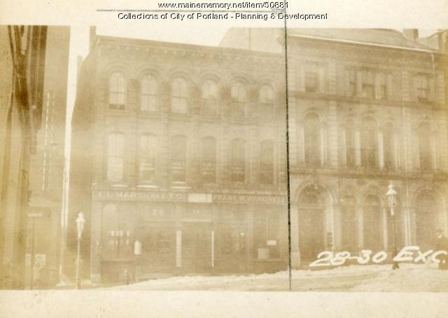 28-30 Exchange Street, Portland, 1924