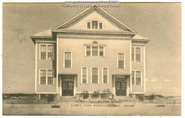 High School, Lubec, ca. 1920