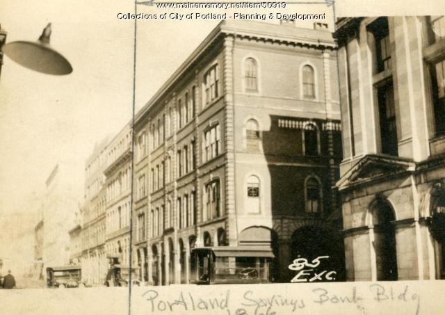81-89 Exchange Street, Portland, 1924
