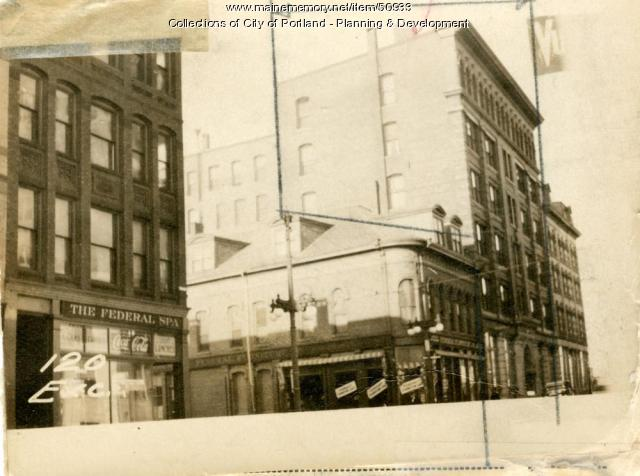 116-124 Exchange Street, Portland, 1924