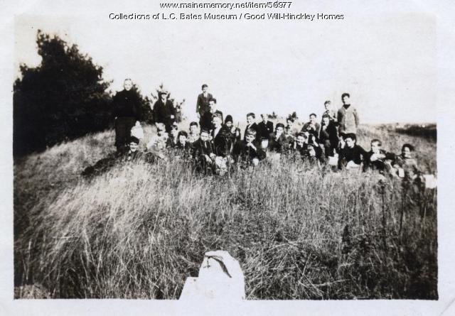 Good Will Boys at Esker, Fairfield, ca. 1925