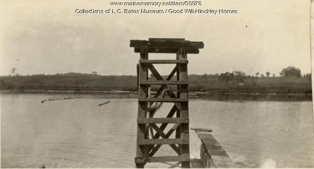 Diving board, Good Will Home, Fairfield, ca. 1925
