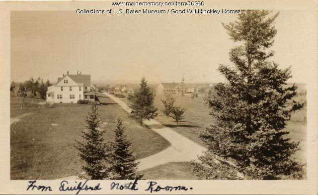View from Guilford Cottage, Fairfield, ca. 1920