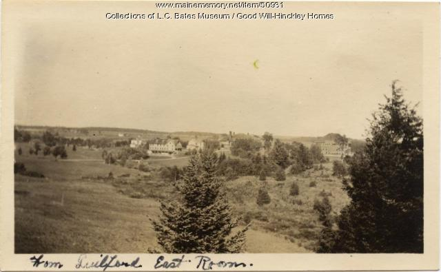 View East from Guilford Cottage, Fairfield, ca. 1920
