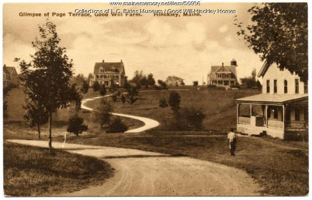 Prescott Drive at Good Will Home, Fairfield, ca. 1925