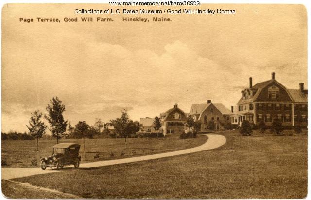 Page Terrace, Fairfield, ca. 1925