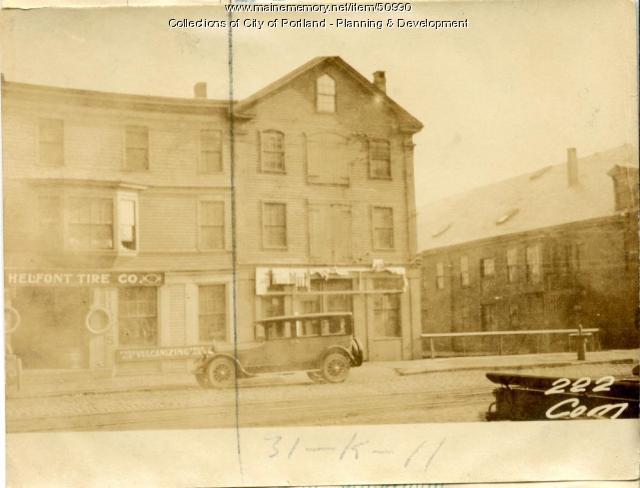 222 Commercial Street, Portland, 1924