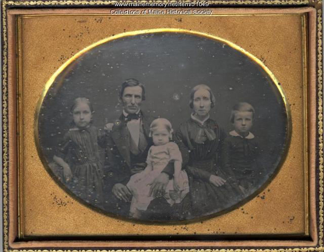 Spofford family, ca. 1850
