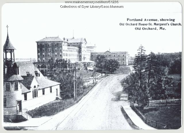 Portland Avenue in Old Orchard Beach, 1907