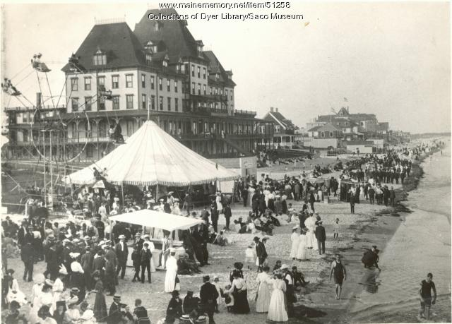 Item 51258 Hotel Fiske Old Orchard Beach Ca 1900