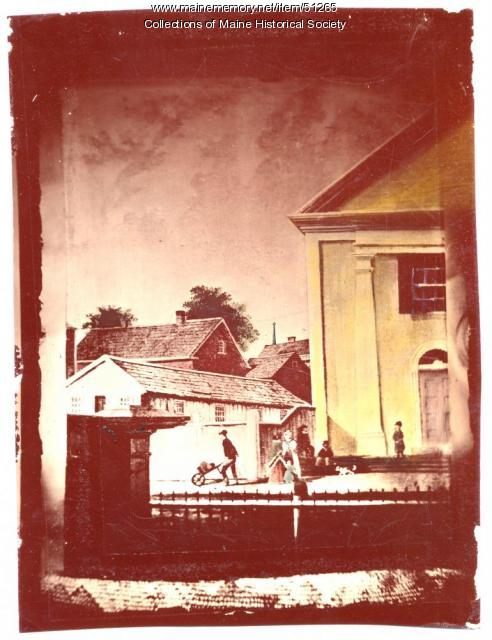 Christian Chapel, Portland, ca. 1850