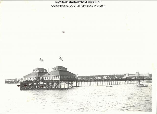 Old Orchard Pier completed, 1898