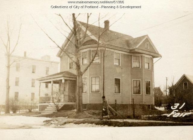 31 Fairfield Street, Portland, 1924