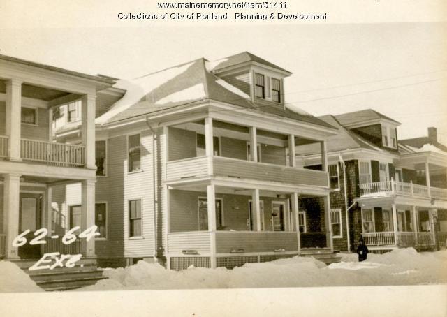 62-64 Exeter Street, Portland, 1924