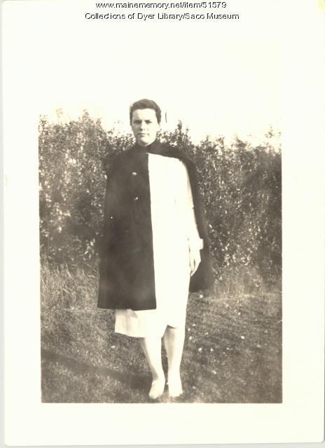 Trull Hospital Nurse, Biddeford, 1939