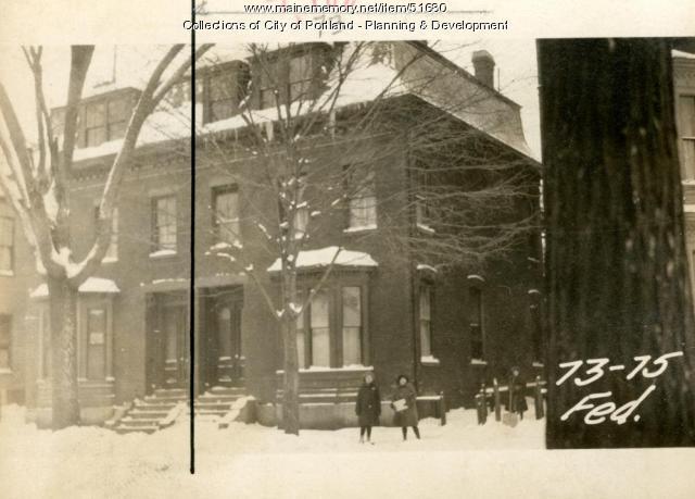 73 Federal Street, Portland, 1924