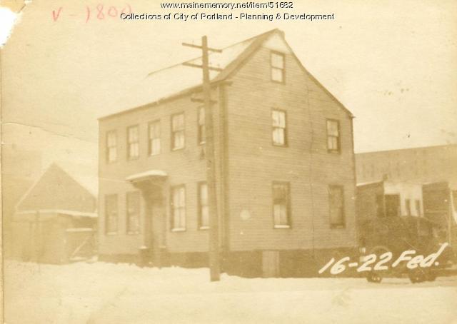 12-16 Federal Street, Portland, 1924