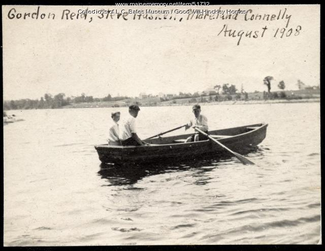 Boys Rowing, Fairfield, 1908