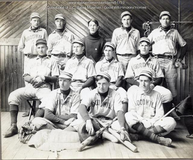 Good Will Baseball, Fairfield, ca. 1910
