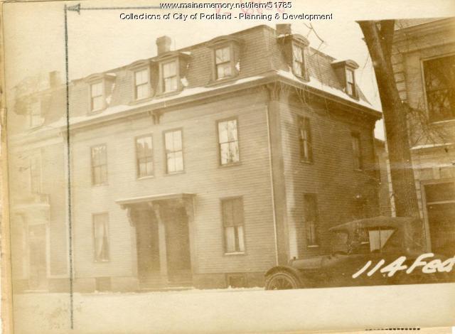 118-120 Federal Street, Portland, 1924