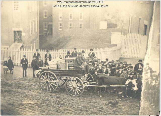 Eastern Express Co., Biddeford 1871