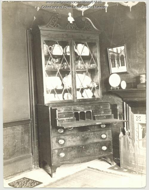 Secretary desk, Saco, 1907