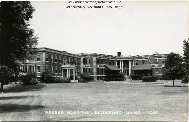 Webber Hospital, Biddeford, ca. 1910