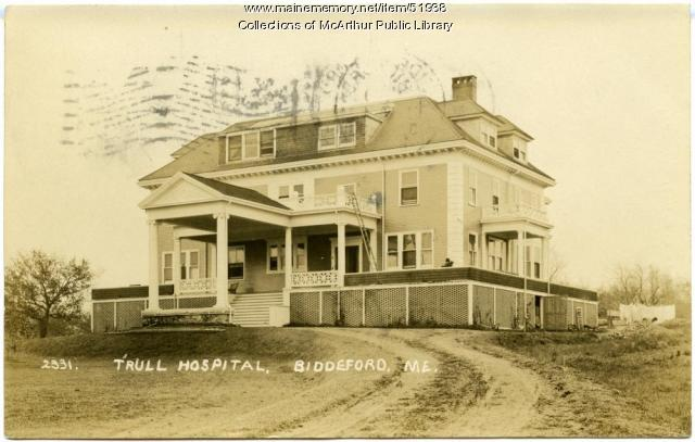 Trull Hospital, Biddeford, circa 1910