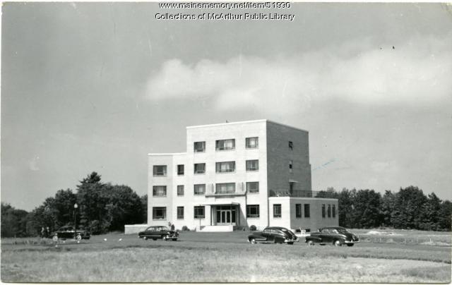Notre Dame Hospital, Biddeford, circa 1950