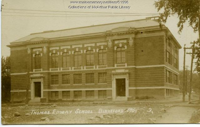 The Emery School, Biddeford, ca. 1910