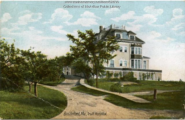 Trull Hospital, Biddeford, ca. 1910