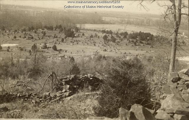 View from Little Roundtop, Gettysburg, Pennsylvania, ca. 1895