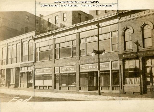 187-191 Federal Street, Portland, 1924