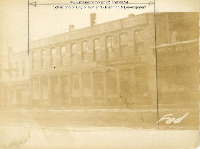 225-232 Federal Street, Portland, 1924