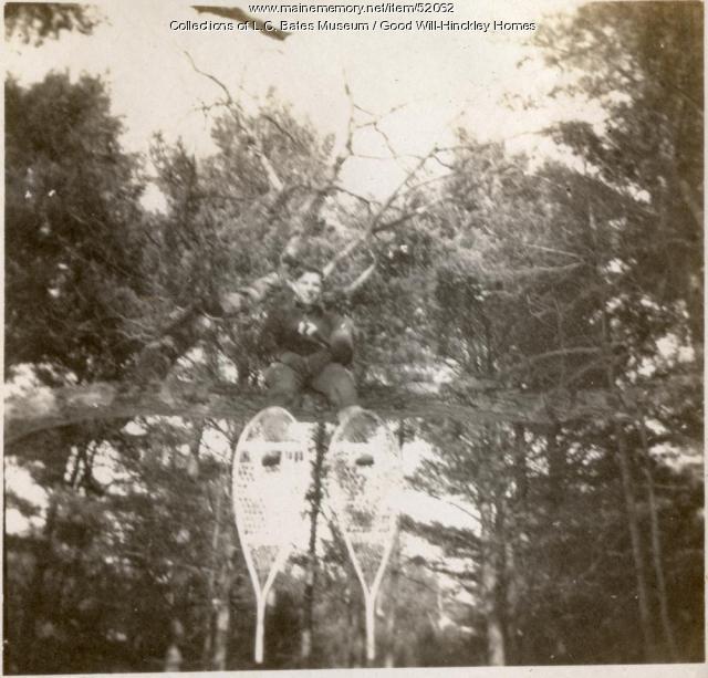 Snowshoeing, Fairfield, 1917
