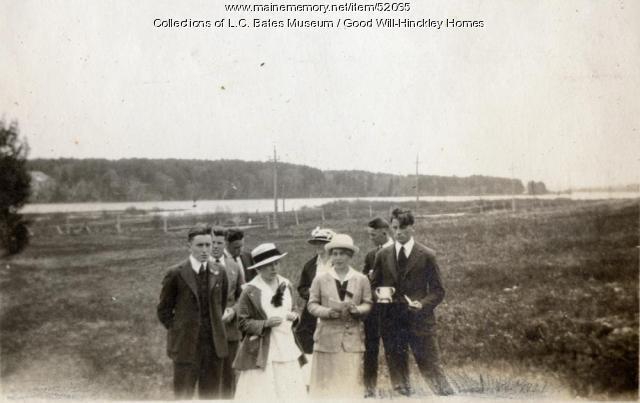 Good Will Schools Senior Class, Fairfield, 1917
