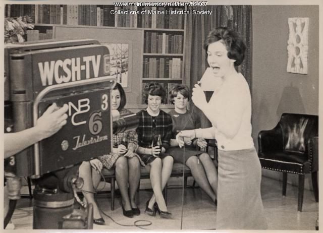 Ellen Warren, 'Dave Astor Show,' Portland, ca. 1962