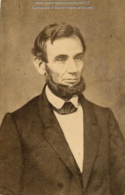 Abraham Lincoln, ca. 1864