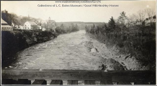 Kennebec River, Skowhegan, 1918