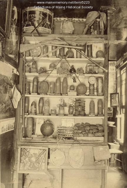 Civil war equipment and supplies, ca. 1865