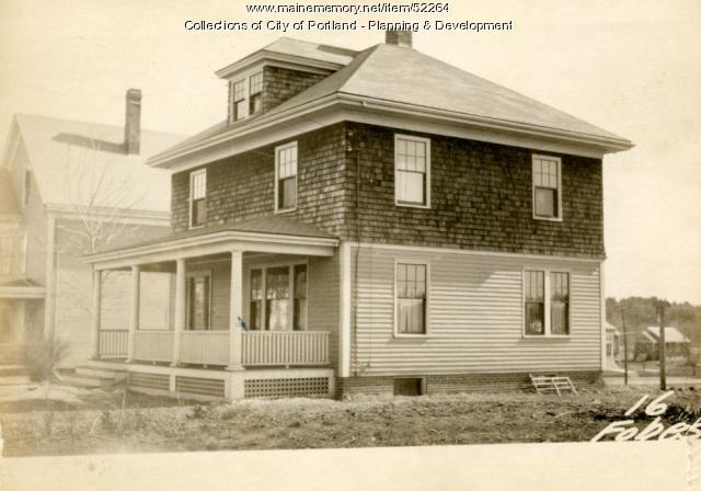 16 Fobes Street, Portland, 1924